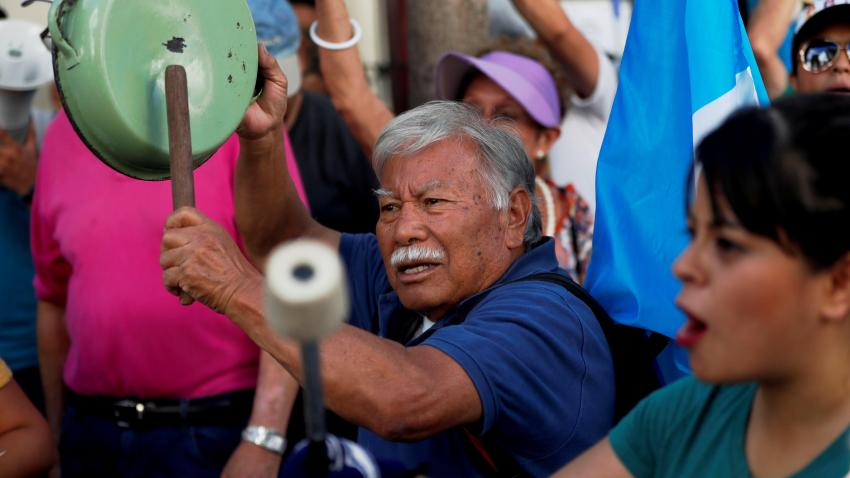FOTODELD�A -GUATEMALA CRISIS MIGRATORIA