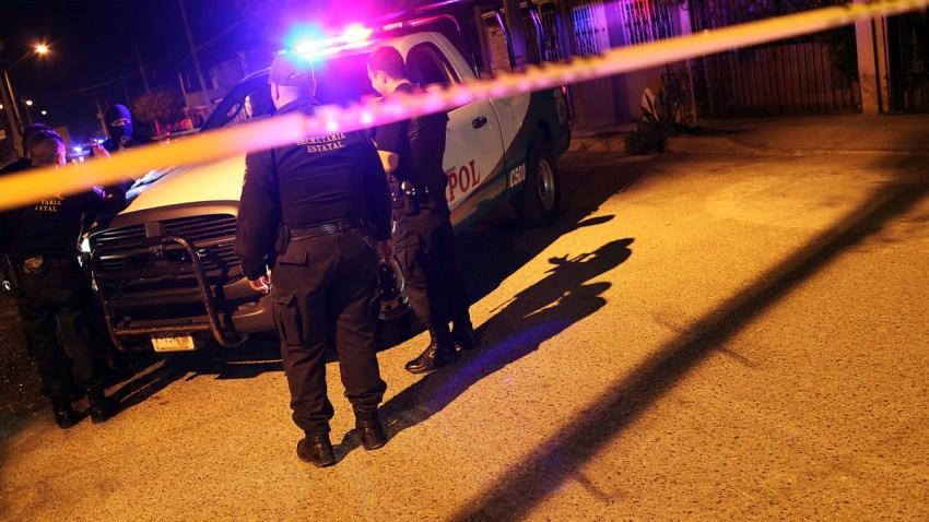 escena de crimen en Chihuahua