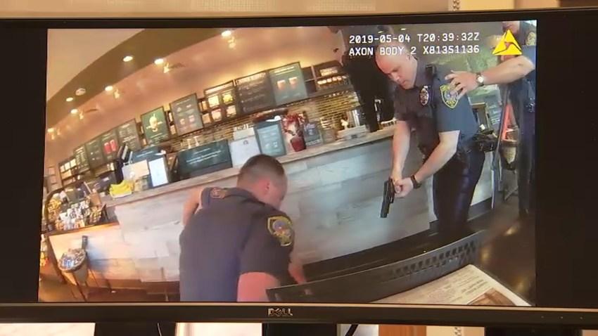 Abington Police Starbucks