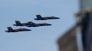 blue angels fly