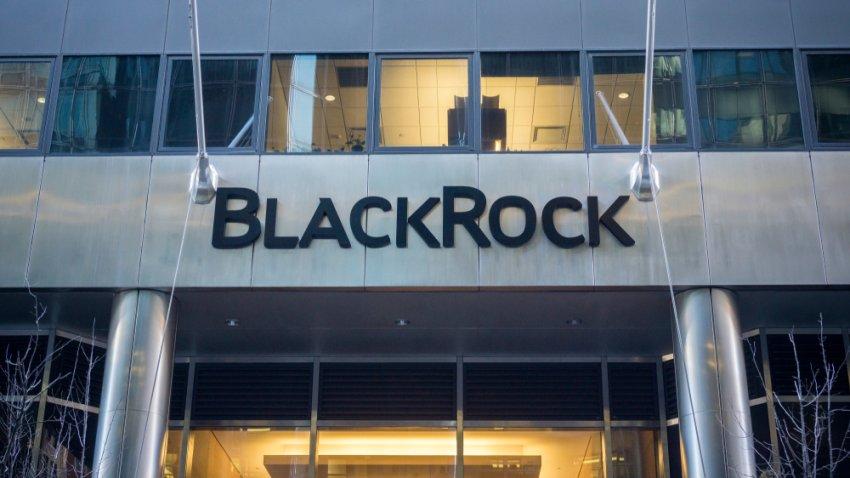 La sede de Nueva York de la firma de gestión de inversiones BlackRock