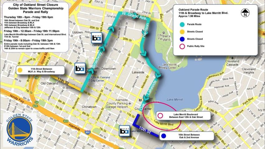 Warriors Parade Route FINAL1