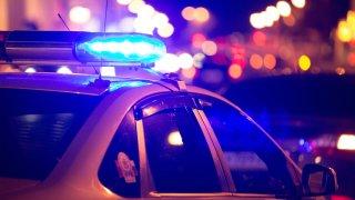 foto generica policia patrulla luces