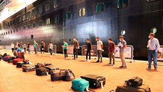 Pasajeros de crucero en Puerto Vallarta