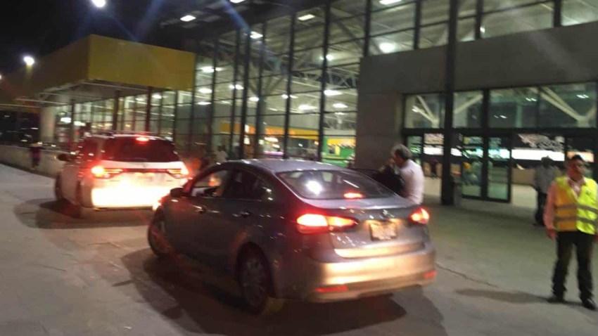 Taxis en Central de Autobuses de Monterrey