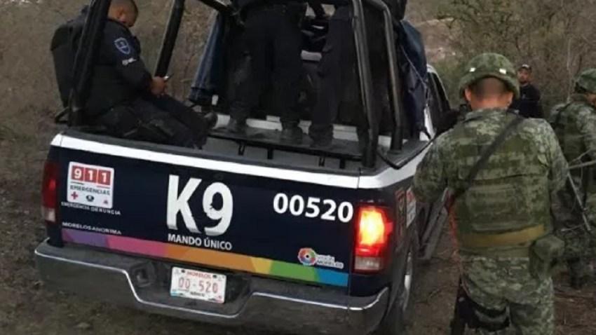 Patrulla de la policía de Morelos