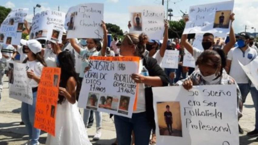 Comunidad de Oaxaca protesta por muerte de Alexander