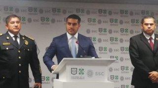 Autoridades de Seguridad en Ciudad de México