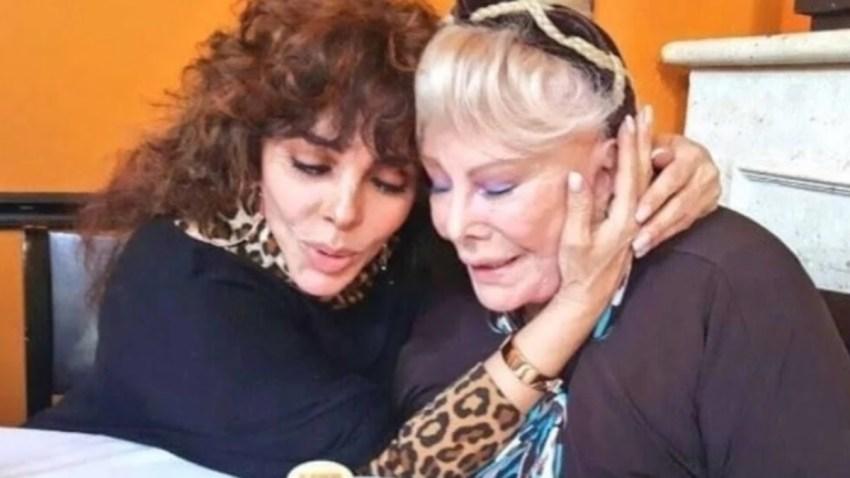 Verónica Castro vive su momento más triste: muere su mamá, Socorro ...