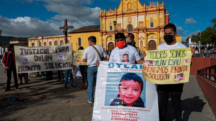 Recuperan niño secuestrado en Chiapas
