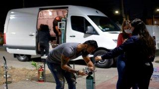 Brigada 'Oxígeno sobre ruedas' apoya en zonas de bajos recursos