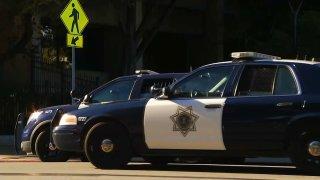 San Jose police car.