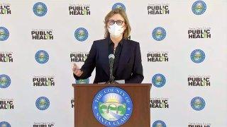 Santa Clara County Public Health Officer Dr. Sara Cody.
