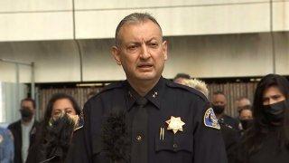 San Jose police Chief Anthony Mata.