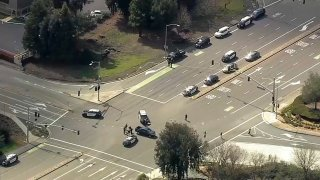 Police activity in Danville.