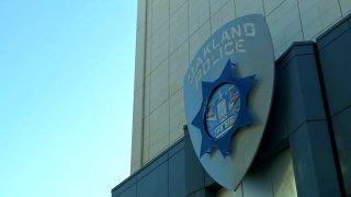 Oakland Police Department logo.