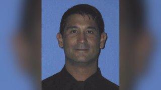 Firefighter Christopher Yock.