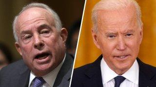 Andrew Saul y Joe Biden