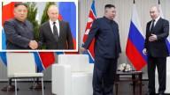 Comienza la primera cumbre entre Putin y Kim Jong-un