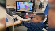 Identifican a niño de 3 años abandonado en la frontera