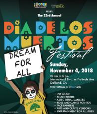 Festival Anual de Día de los Muertos Oakland
