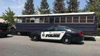 El dueño del vehículo fue arrestado junto con otros tres sujetos.