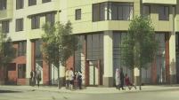 Las viviendas serán destinado a familias con ingresos entre 35 mil y 71 mil dólares al año.