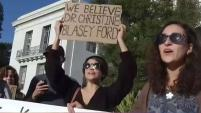La Dra. Christine Blasey Ford y Deborah Ramirez acusaron a  Brett Kavanaugh de acoso sexual. Estudiantes en la Universidad de Berkeley piden su renuncia o su...