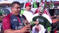 La fiesta empezó temprano en el estadio Levi's. La ocasión: el partido entre México e Islandia.