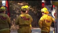 Autoridades continuan batallando una serie de incendios en Milpitas.