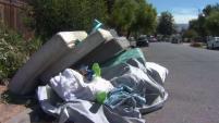 Residentes afirmaron que en el área de Mt. Rainier y Mt. McKinley se pueden encontrar muebles, camas y bolsas de basura.