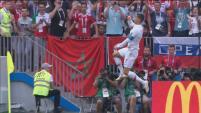 El delantero sumó su cuarto gol en Rusia 2018, en el triunfo de Portugal sobre Marruecos.