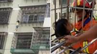 La travesura de esta pequeña de 5 años casi acaba en tragedia en el este de China.