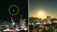 El fenómeno fue avistado la noche del martes en la ciudad de Adelaide, en el sur de Australia. Para ver más de Telemundo, visita now.telemundo.com