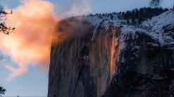 """Fenómeno """"caída de fuego"""" regresa a Yosemite Park"""