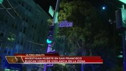 Autoridades investigan homicidio en San Francisco