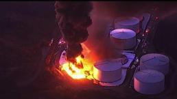 Autoridades dan información sobre explosión