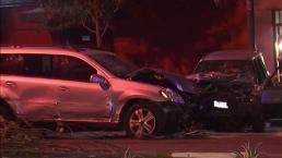 Choque deja a 5 heridos en San Francisco