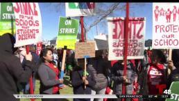Continúa huelga de maestros en Oakland