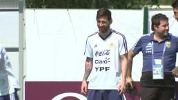 Messi en su cumpleaños, sin su esposa y dentro de un huracán