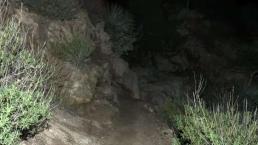Hombre se pierde y pasa la noche en las montañas