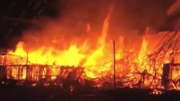 Incendio provoca evacuación de 250 personas en Concord