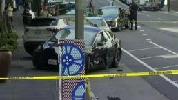Investigan atropellamiento mortal en San Francisco