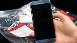 Samsung explica: por qué se incendia el Galaxy Note 7