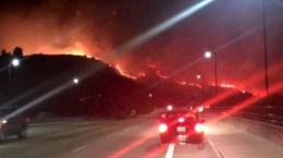 Infierno en la tierra: incendio forestal amenaza a comunidad