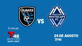 San Jose Earthquakes vs Vancouver Whitecaps FC