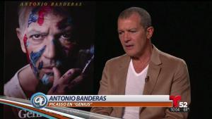 Antonio Banderas encarna a Picasso