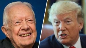 Jimmy Carter cree que Trump es un presidente ilegítimo