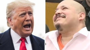 """Trump dice que video tildado de """"racista"""" fue """"correcto"""""""