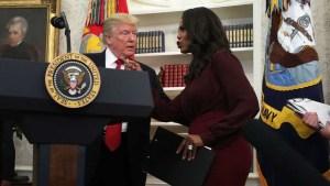 Omarosa grabó en secreto su despido de la Casa Blanca